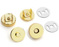 Magnetic Snap Gold 18mm 1/pkg