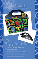 The Preppy Mini-Tote Pattern with Black Handles