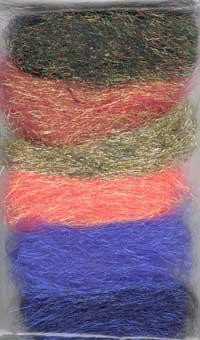Crimped Angelina Sampler Pack - Sunset