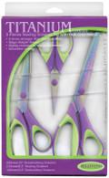 Scissors Titanium 3 Piece set