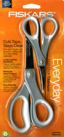 Fiskars Performance 8in and 5in Titanium Softgrip Non-Stick Scissors Set
