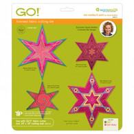 AccuQuilt GO! Die 6 Point Star Medley by Sarah Vedeler