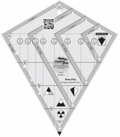 Creative Grids Kites Plus Ruler