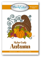 Mylar Curly Autumn with CD