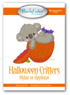 Halloween Critters Mylar or Applique with CD