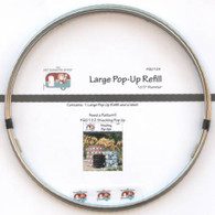 Large 10-1/2in Pop-up Refill
