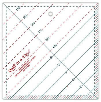6.5 in Triangle Square Up Ruler