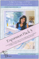 Edge to Edge Quilting Expanded Pack 3 with CD
