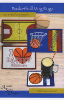 Basketball Mug Rugs with CD