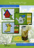 Spring Mug Rugs with CD