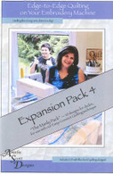 Edge to Edge Quilting Expanded Pack 4 with CD