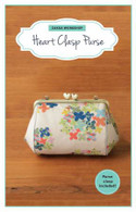 Heart Clasp Purse Kit with Pattern