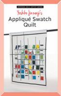 Japanese Quilt Artist Series: Yoshiko Jinzenji's Applique Swatch Quilt Pattern