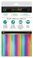 iCraft Deco Foil Transfer Sheets 20/pkg Rainbow