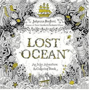 Lost Ocean: An Inky Treasure Hunt and Coloring Book