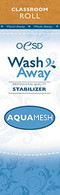 AquaMesh Wash Away Stabilizer Classroom Size  10in x 2 yds