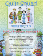 Quilt Squad Laser Cut Fabric Kit by Amy Bradley Designs