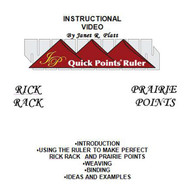 Instructional DVD For Quick Points Prairie Point Ruler
