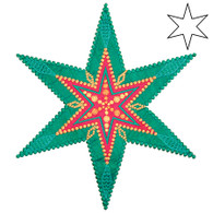 AccuQuilt GO! 6 Point Star by Sarah Vedeler