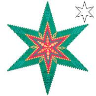 AccuQuilt GO! 6 Point Star by Sarah Vedeler