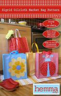 Sigrid Oilcloth Market Bag