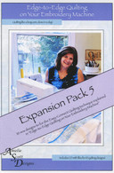 Edge to Edge Quilting Expanded Pack 5 with CD