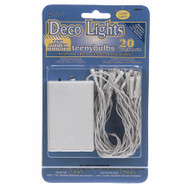 Teeny Bulbs 20 Bulb Light String Battery Operated Lights