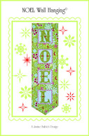 Noel Wall Hanging Embroidery Design CD