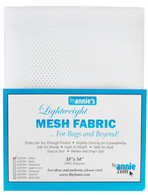 Lightweight Mesh Fabric White 18in x 54in