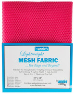 Lightweight Mesh Fabric Lipstick 18in x 54in