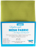 Lightweight Mesh Fabric Apple Green 18in x 54in
