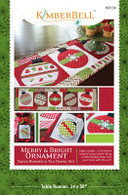 Merry and Bright Table Runner and Tea Towel Set Pattern