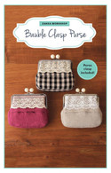 Bauble Clasp Purse Kit with Pattern