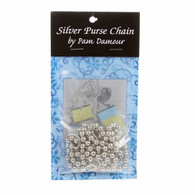 60in Purse Chain Silver