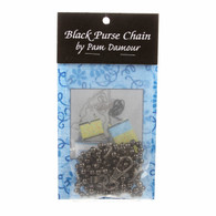 60in Purse Chain Black