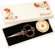 Klasse Antique Scissor and Tape Measure