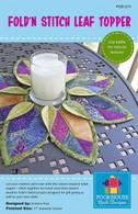 Fold n Stitch Leaf Topper Pattern