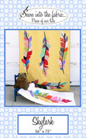 Skylark Feather Quilt and Table Runner Pattern