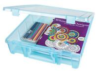 Super Satchel One Compartment Aqua