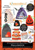 It's A Cinch Gift Bags Volume 1 Halloween Machine Embroidery CD