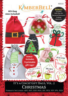 It's A Cinch Gift Bags Volume 2 Christmas Machine Embroidery CD
