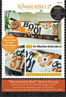 Halloween Boo! Bench Pillow Machine Embroidery CD