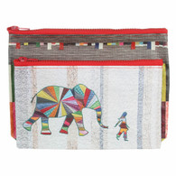 Elephant and I Eco Pouch Set of 2