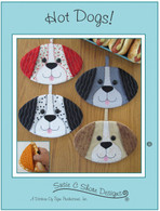 Hot Dogs Hot Pads Pattern