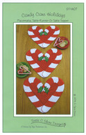Candy Cane Placemats Table Runners or Table Toppers Pattern