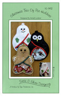 Christmas Trio of Pot Holders Pattern