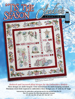 Tis the Season Machine Embroidery with CD