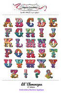 Lil' Elemenopea Alphabet Machine Embroidery CD