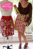 Proper Attire Skirt Dress Pattern
