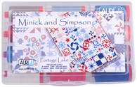 Aurifil Cotton 50 wt and 12wt 12 Large Spools Portage Lake Collection by Minick and Simpson